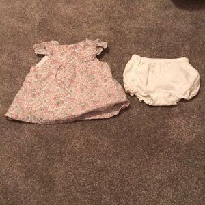 Janie and jack dress with bloomers.  NWOT